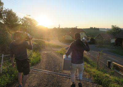 Johanna Franziska Behind the scenes 01